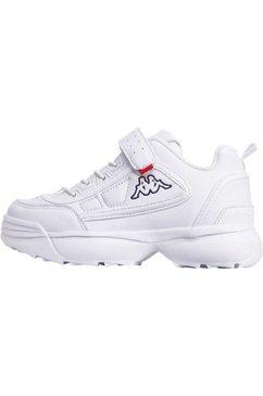 kappa sneakers »rave nc k« wit