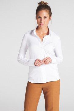 eterna lange arm blouse »modern classic uni« wit