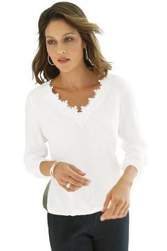 lady kanten blouse wit