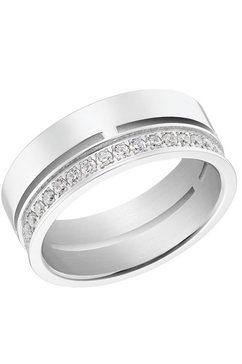 s.oliver ring 2031468 - -69 - -70 - -71 met zirkoon (synthetisch) zilver