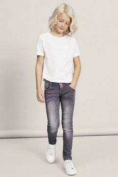 name it slim fit jeans »nitclas xsl-xsl dnm pant« grijs