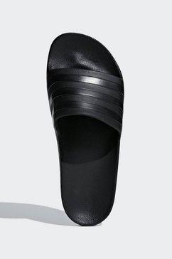 adidas performance badslippers »adilette aqua« zwart