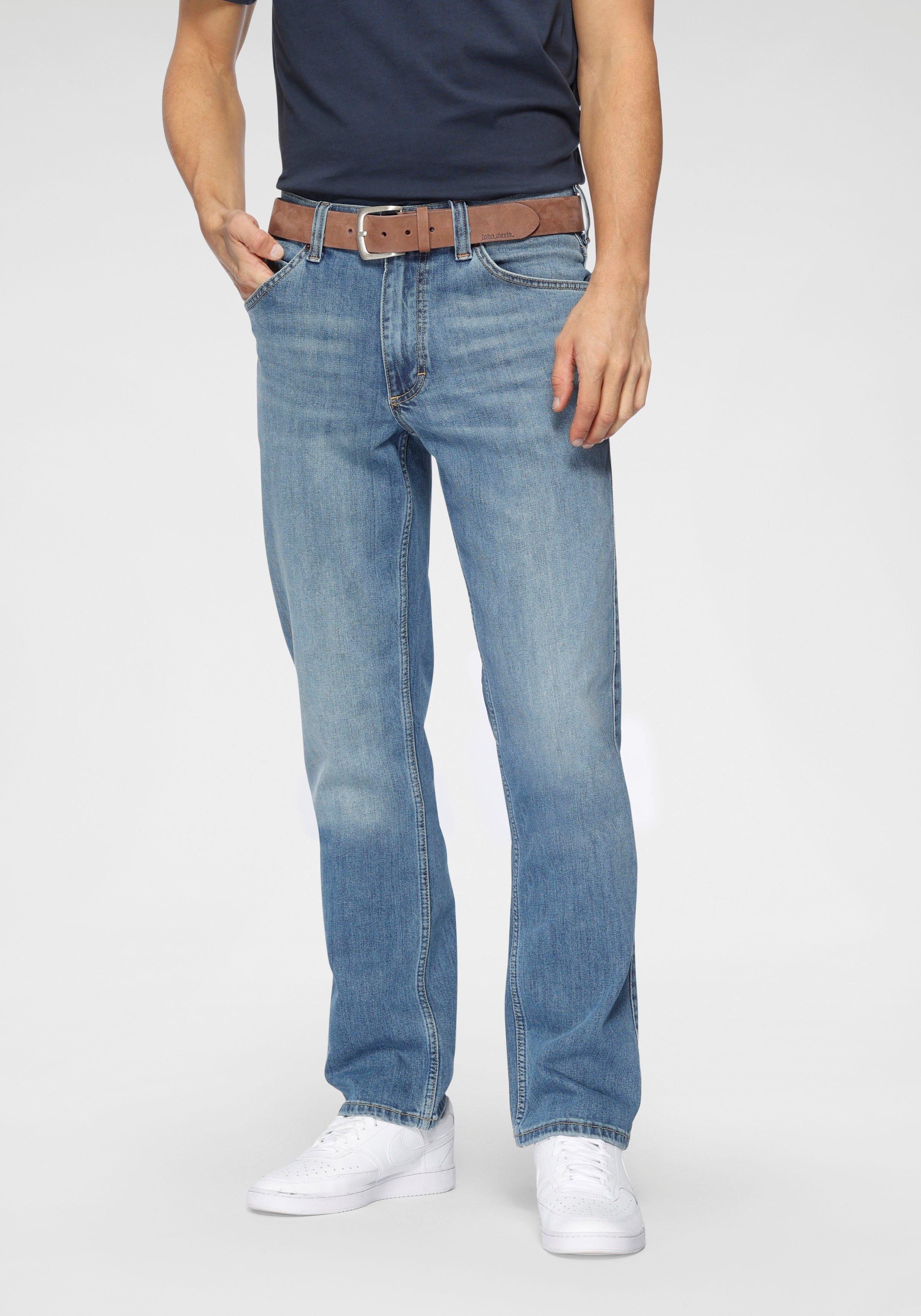 MUSTANG straight jeans Tramper in five-pocketsmodel - gratis ruilen op otto.nl