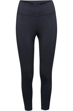 esprit sports functionele broek met e-dry-uitvoering blauw