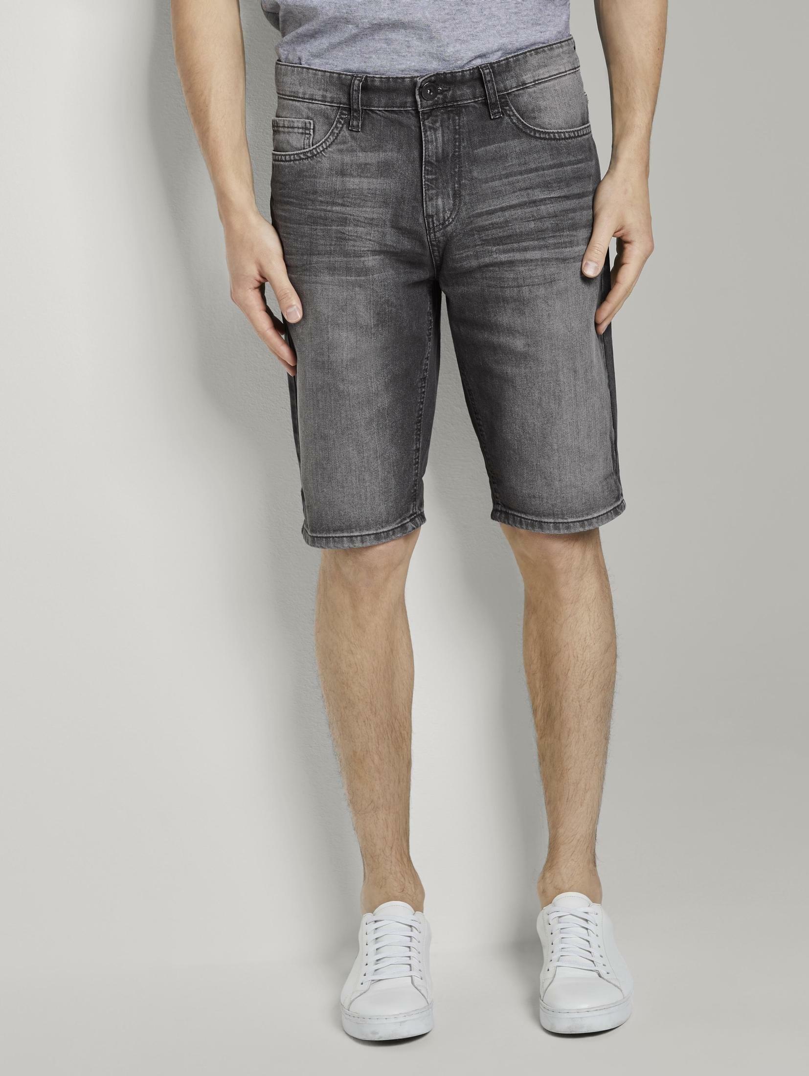Tom Tailor slim fit jeans »Josh Regular Slim Jeans-Shorts in Vintage-Waschung« nu online kopen bij OTTO