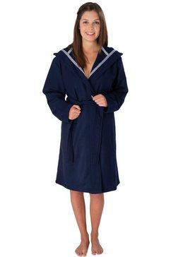 wewo fashion uniseks badjas »3900« (met riem) blauw