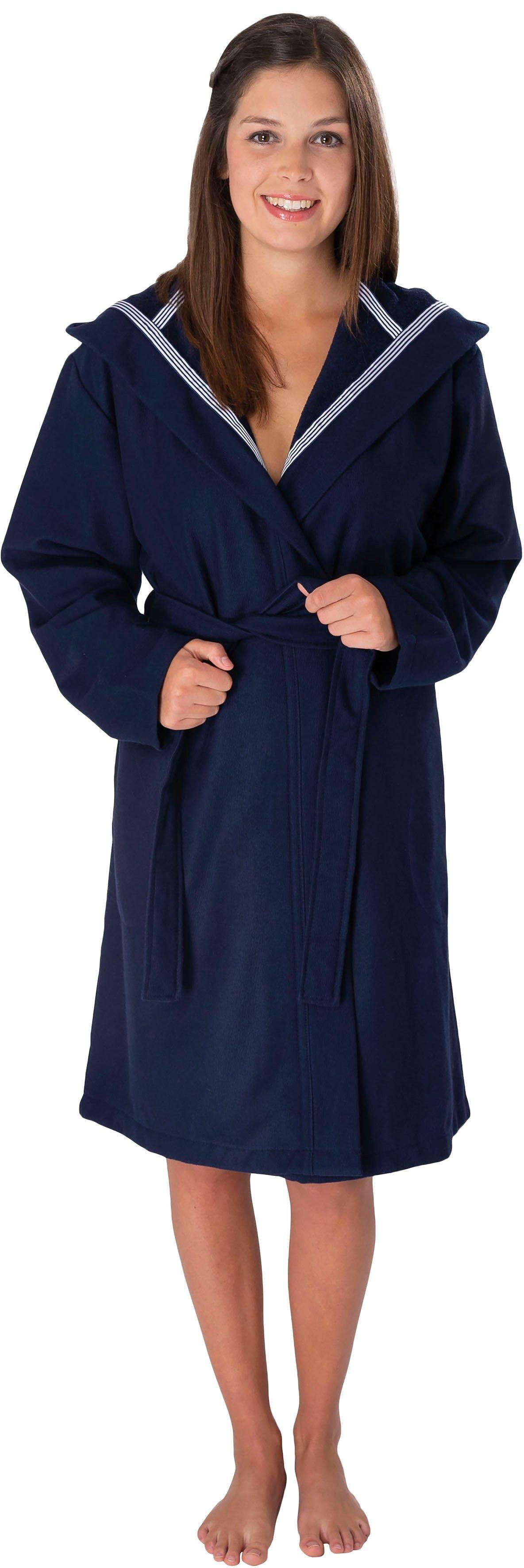 Wewo fashion uniseks badjas 3900 met softtouch (1 stuk, Met riem) nu online bestellen