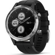garmin smartwatch »fenix 5 plus« zilver