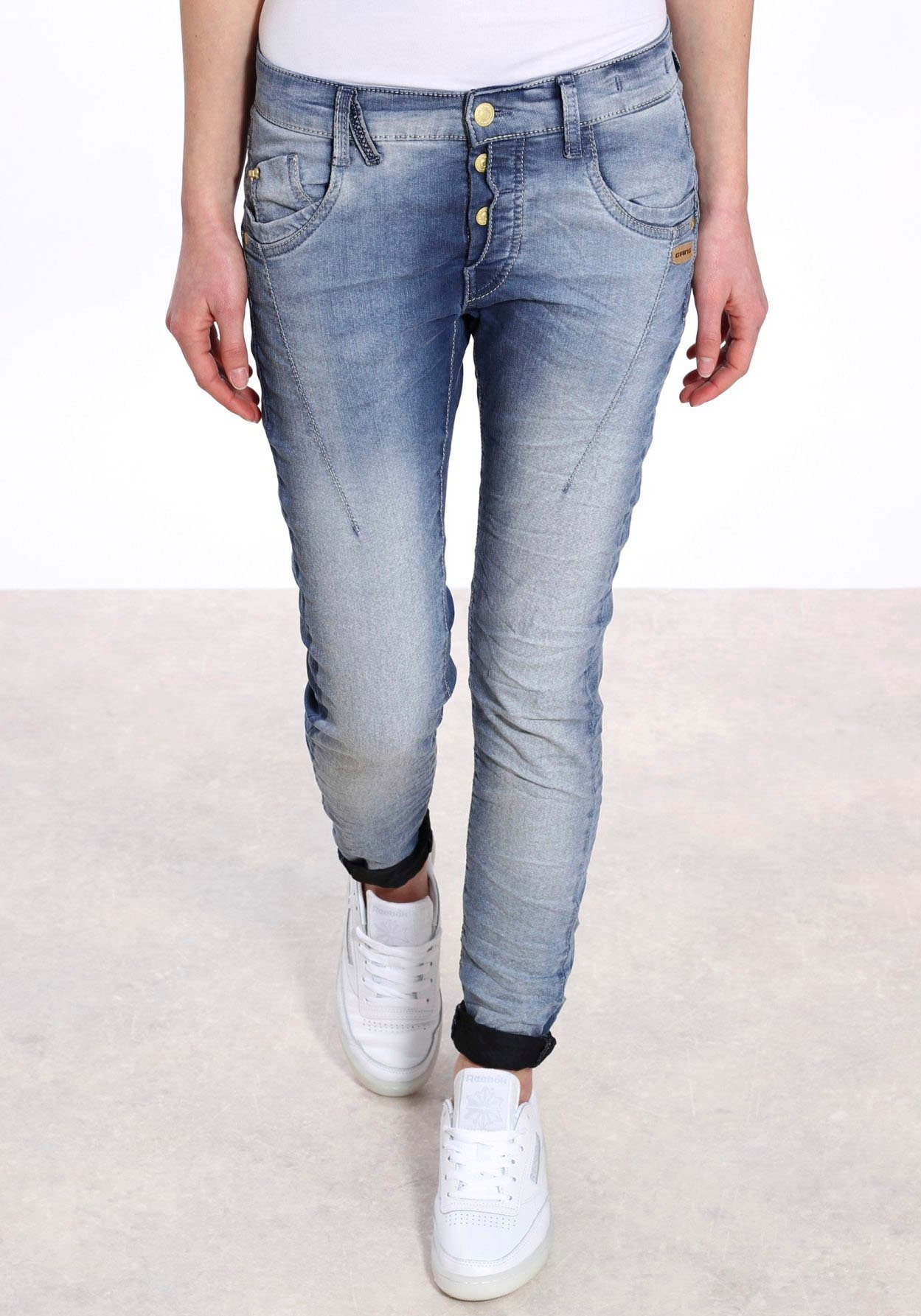 GANG slim fit jeans »New Georgina« bij OTTO online kopen