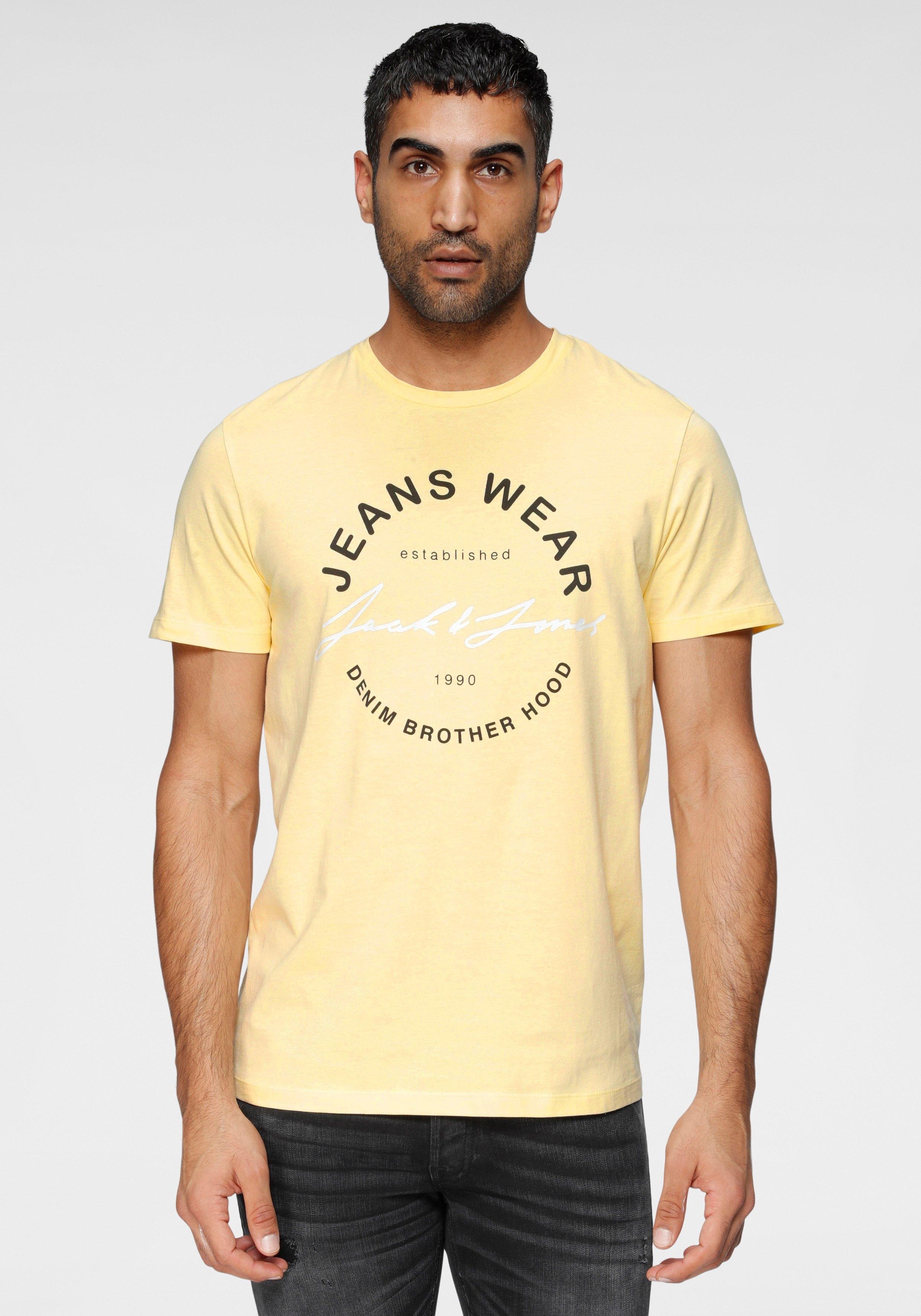 Jack & Jones T-shirt MOON TEE CREW NECK - gratis ruilen op otto.nl