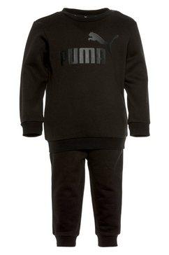 puma joggingpak minicats ess crew jogger fleece zwart
