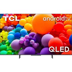 "tcl qled-tv 43c722, 108 cm - 43 "", 4k ultra hd, smart-tv   android tv zwart"