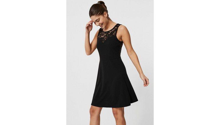 VERO MODA kanten jurk »VMVALENTINA«