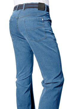 pionier jeans met comfortband blauw