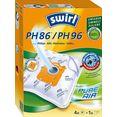 swirl stofzak swirl ph 86x96 stofzak voor philips (set, 5 stuks) wit
