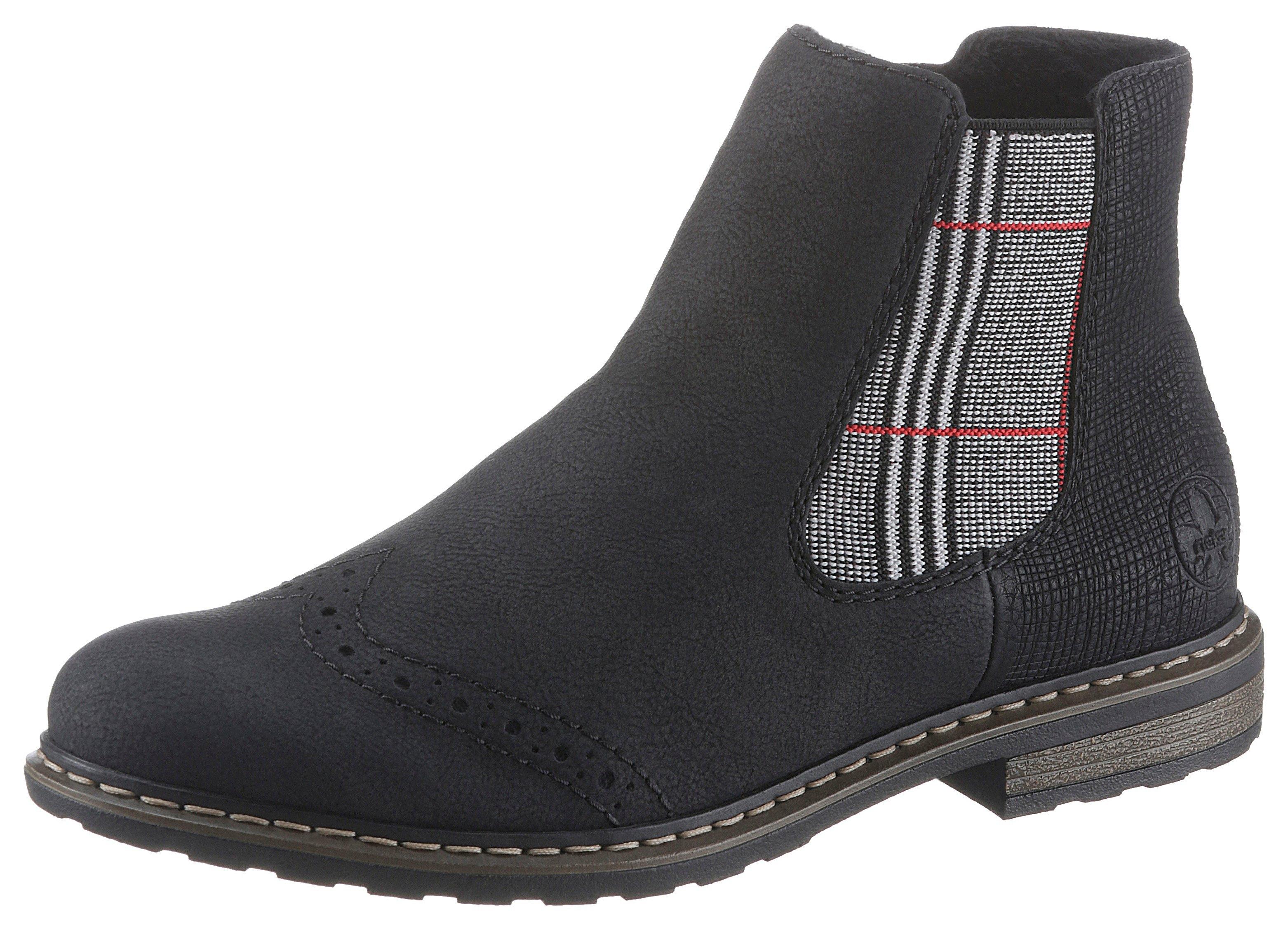Rieker Chelsea-boots met lyra-perforaties goedkoop op otto.nl kopen