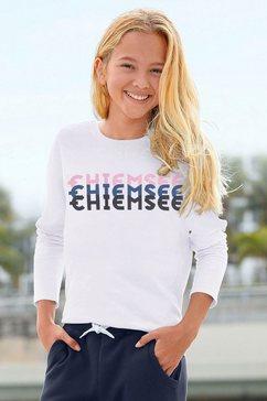 chiemsee shirt met lange mouwen wit