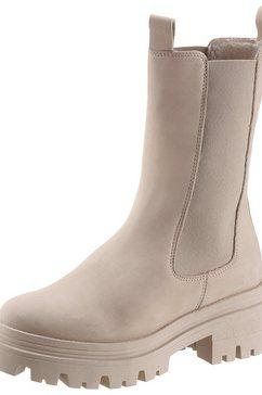 tamaris instaplaarzen met uitneembaar voetbed