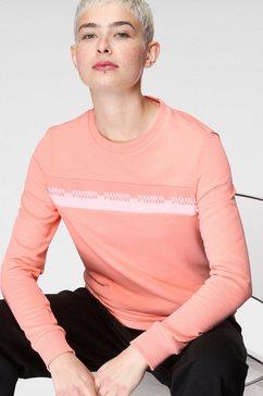 puma sweatshirt amplified crew tr roze
