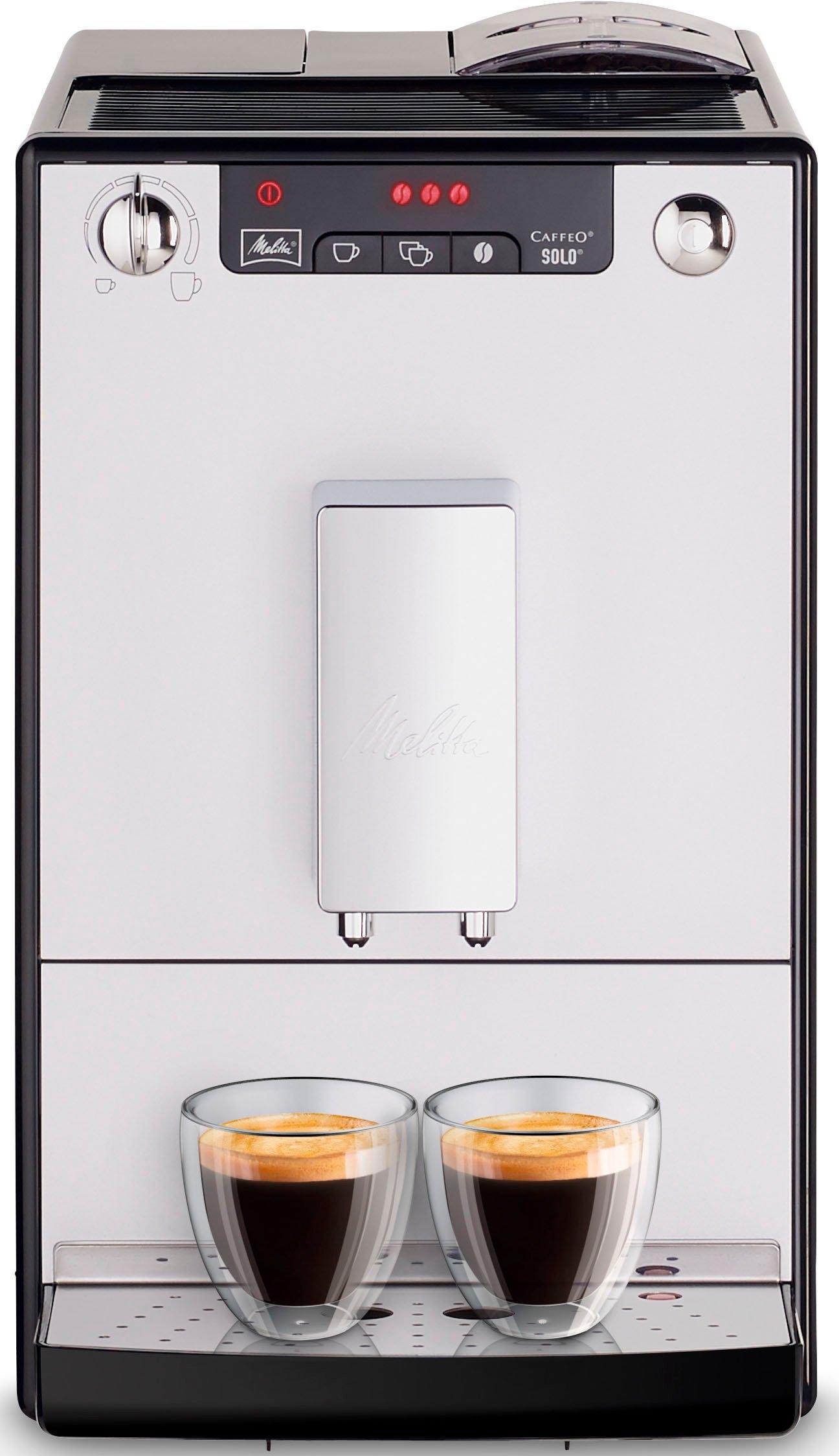 Melitta volautomatisch koffiezetapparaat CAFFEO® Solo® zwart/zilverkleur E 950-103 - gratis ruilen op otto.nl