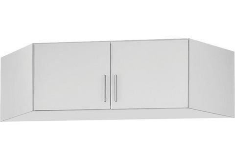 Hoek opzetkast CELLON 2 deuren wit-hoogglans wit