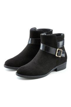lascana chelsea-boots zwart