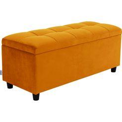 couch? slaapkamerbankje »abgesteppt«