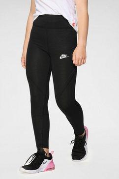 nike legging »girls favorites gx leggings« zwart