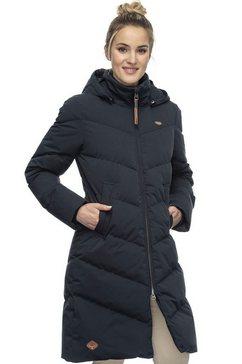 ragwear gewatteerde jas »rebelka« blauw