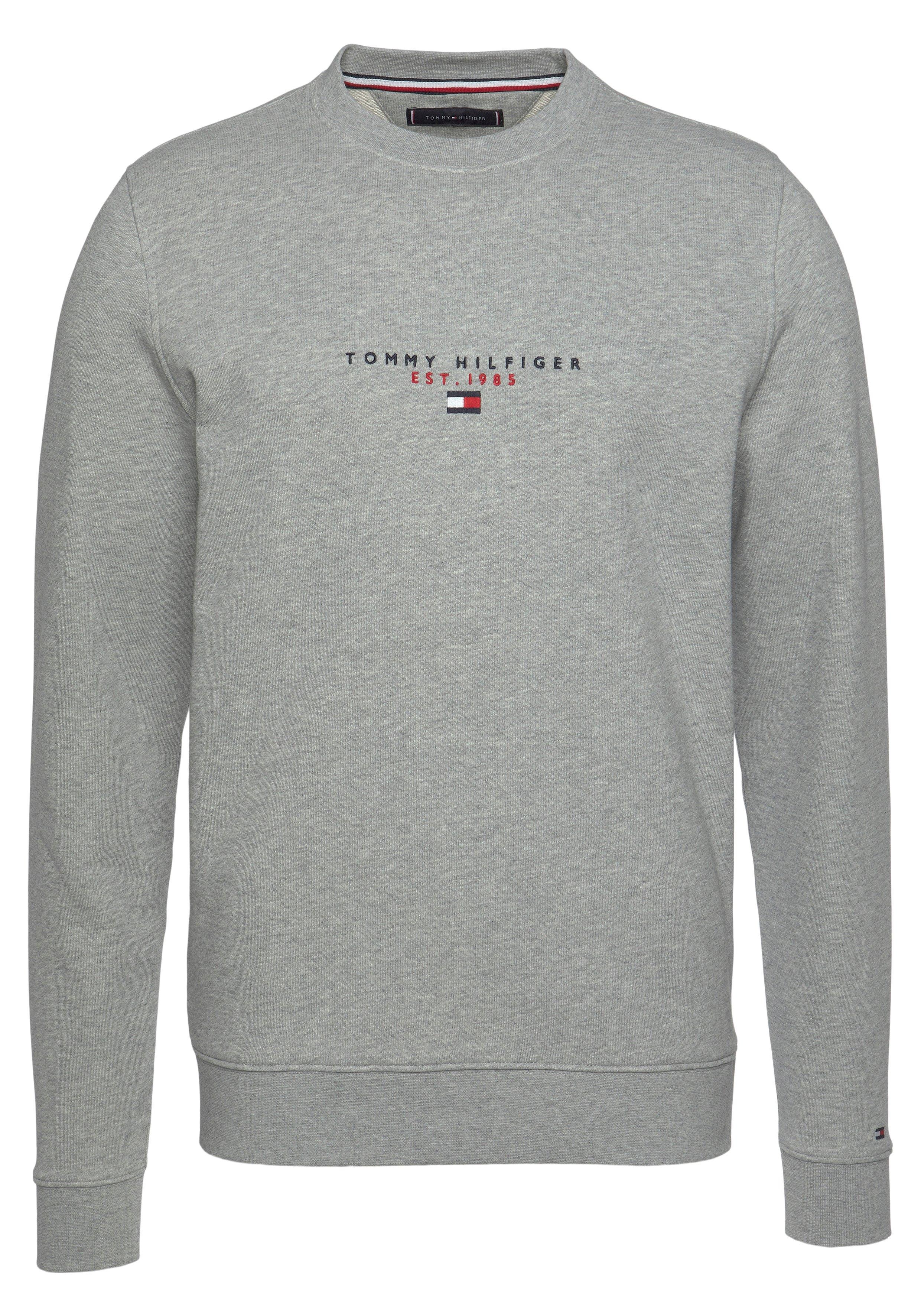 Tommy Hilfiger sweatshirt ESSENTIAL TOMMY CREWNECK nu online bestellen