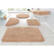badmat »sanremo«, my home, hoogte 30 mm, met antislip-coating, geschikt voor vloerverwarming beige