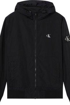 calvin klein bomberjack »essentials hooded bomber« zwart