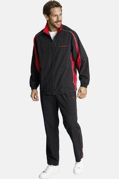 jan vanderstorm trainingspak eirik prettig joggingpak (set, 2-delig) zwart