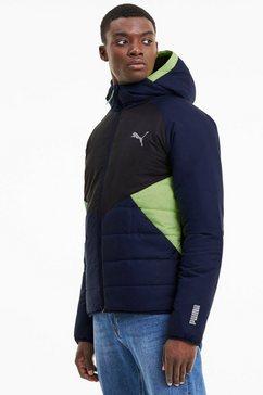 puma functioneel jack warmcell padded jacket blauw