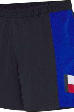 tommy sport trainingsshort »training woven blocked short 5« blauw