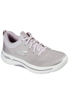 skechers sneakers go walk arch fit moon shadows geschikt voor de machinewas paars