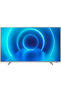 "philips led-tv 43pus7555-12, 108 cm - 43 "", 4k ultra hd, smart-tv zilver"