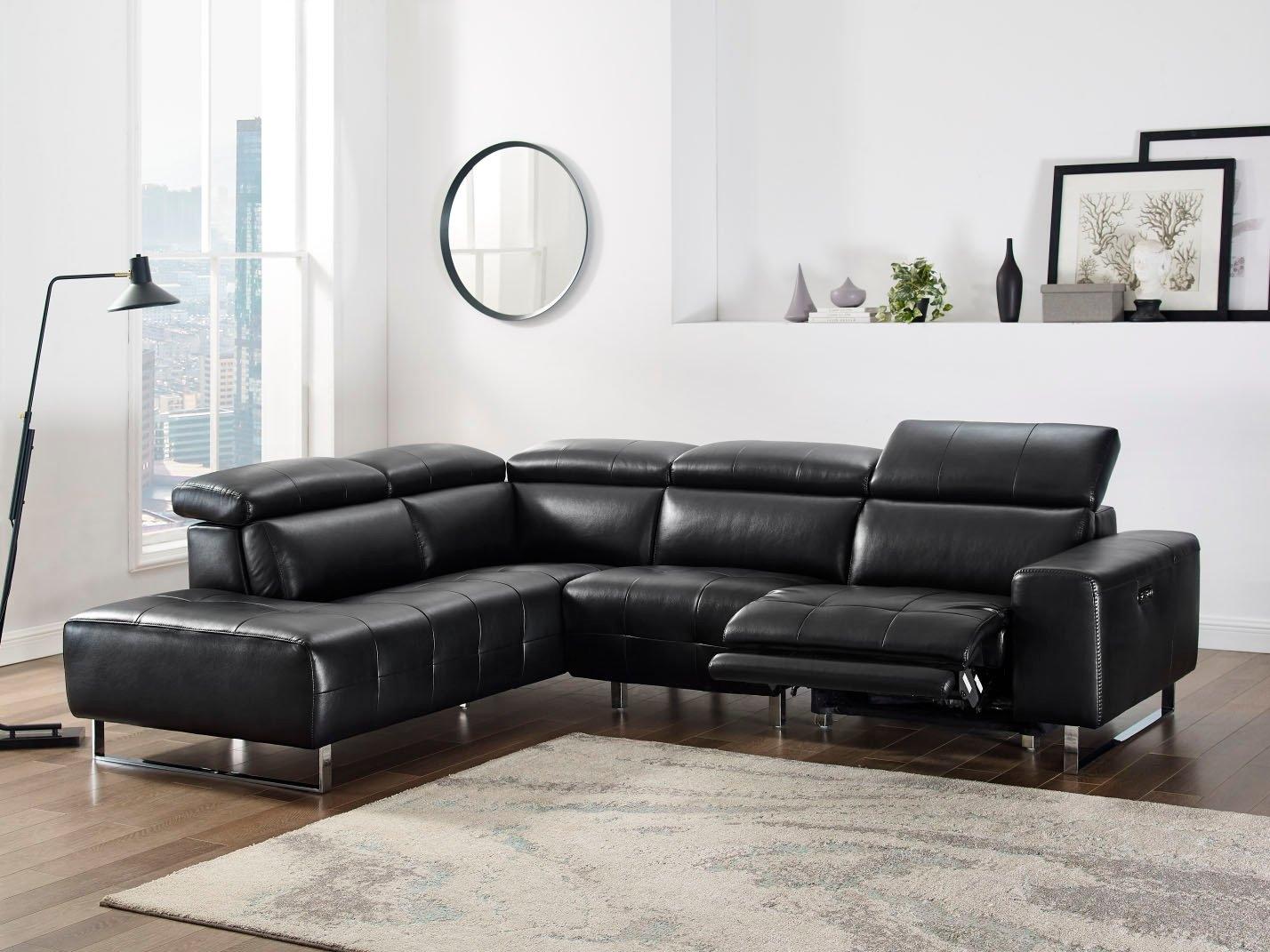 Places of Style hoekbank met elektrische relaxfunctie aan een kant en handmatig verstelbaar hoofdeind online kopen op otto.nl