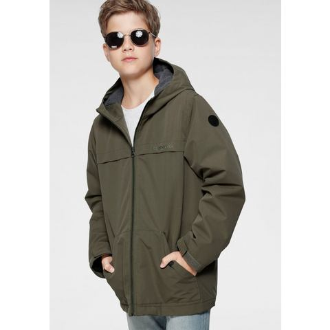 NU 20% KORTING: Quiksilver parka WAITING PERIOD YOUTH