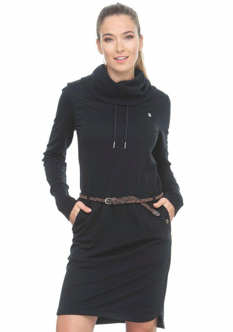 Ragwear jerseyjurk »LAURRA A« (Met een afneembare riem) - verschillende betaalmethodes