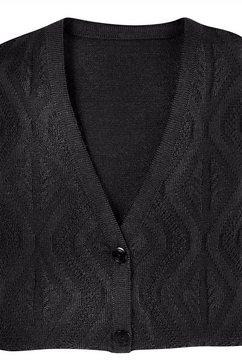 classic basics mouwloos vest zwart