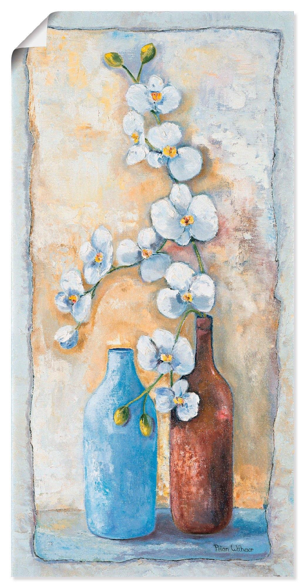 Artland artprint Orchideeën compositie II in vele afmetingen & productsoorten -artprint op linnen, poster, muursticker / wandfolie ook geschikt voor de badkamer (1 stuk) goedkoop op otto.nl kopen