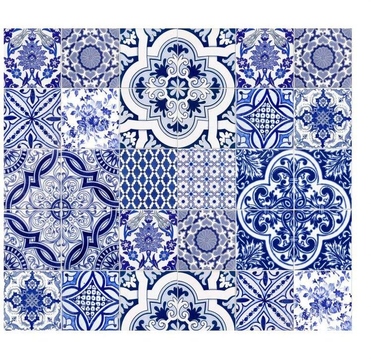 Wall-Art kookplaatdeksel Keuken kookplaatafdekblad Portugal (set, 2-delig) bestellen: 30 dagen bedenktijd
