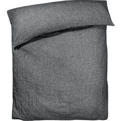 zoeppritz dekbedovertrek stay forever (1 stuk) grijs