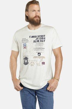 jan vanderstorm t-shirt »valteri« wit