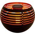 naeve led-tafellamp voor buiten solar-tafellamp vlammeneffect, schuifschakelaar (1 stuk) zwart