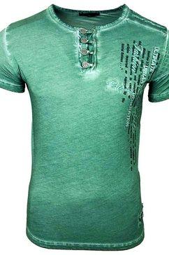 rusty neal t-shirt »a16784« bruin