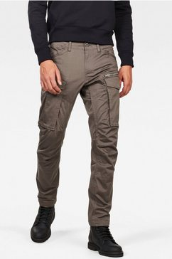 g-star raw cargobroek rovic zip 3d tapered pant grijs