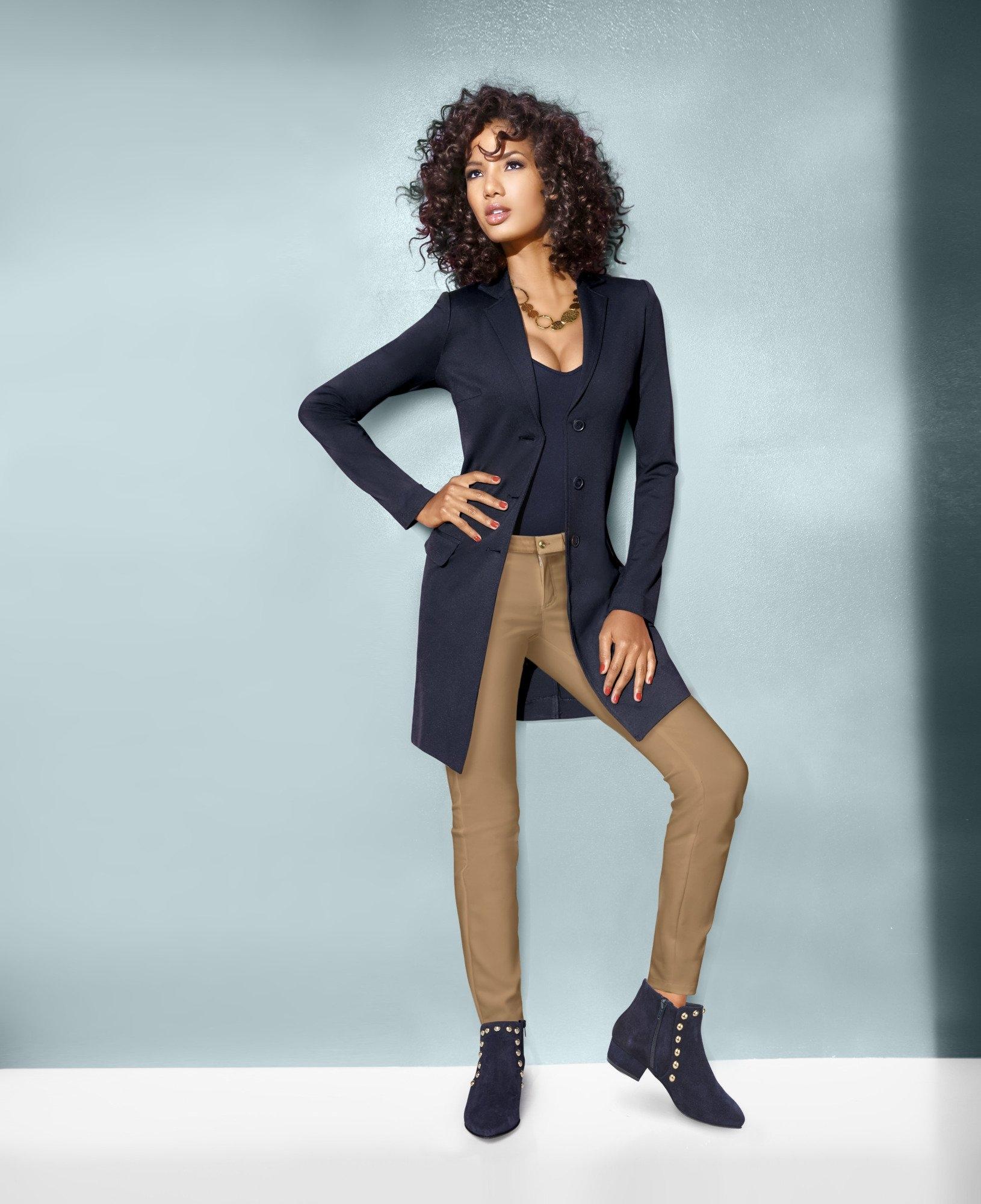 ASHLEY BROOKE by Heine Longline-blazer nu online kopen bij OTTO