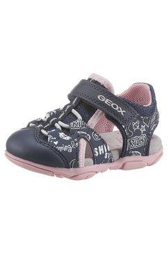 geox kids sandalen agasim girl met gepatenteerde membranen, speciaal van geox blauw